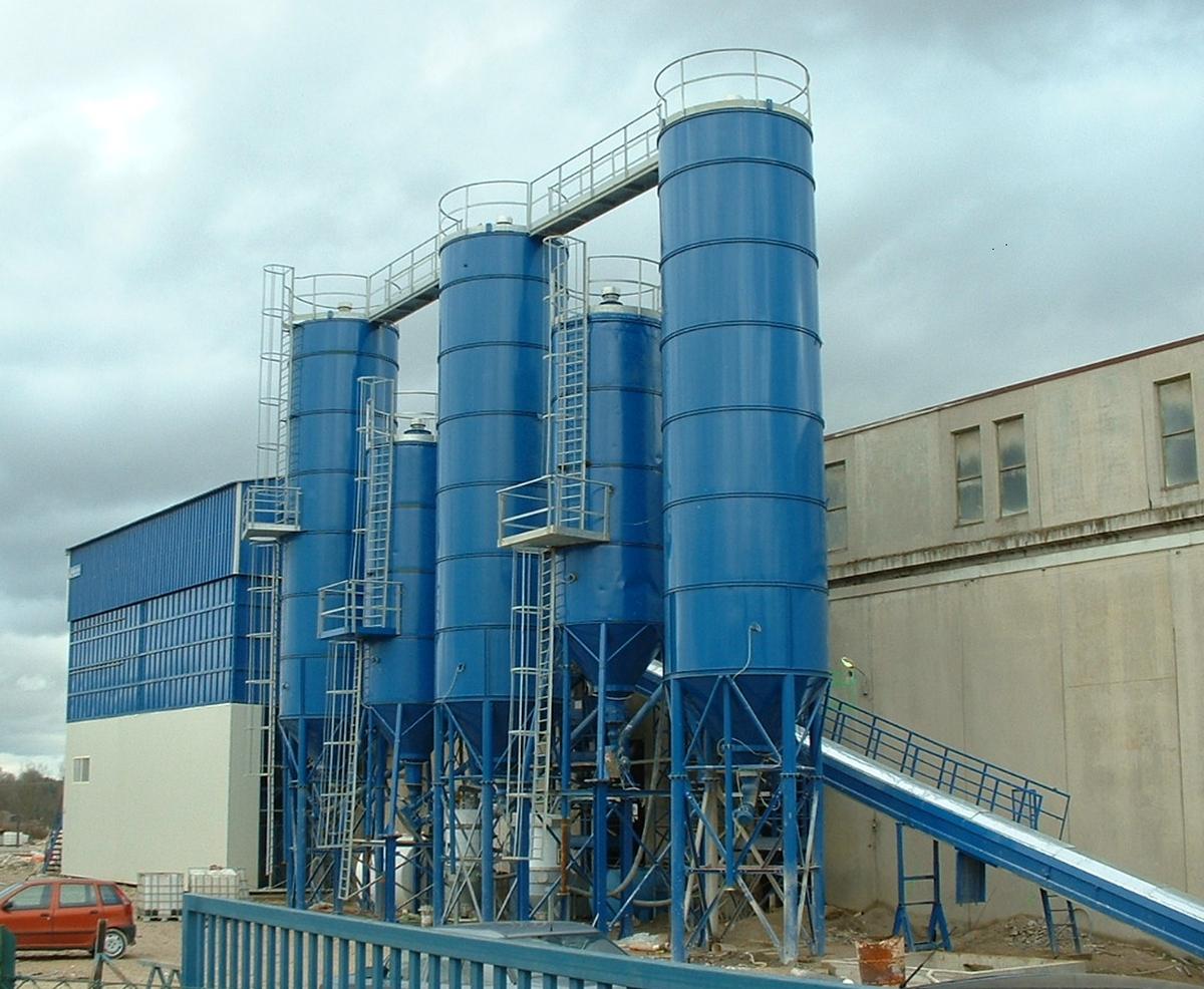 Concrete Production Plant : Industrial prefabrication plants mixed cement production